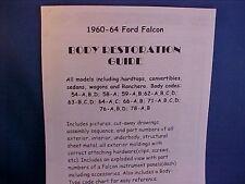 1960,1961,1962,1963,1964 Ford FALCON Parts/Resto Guide--old FoMoCo dealer info