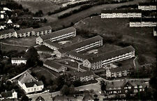 Glücksburg ~1950/60 alte s/w Luftbild-AK DRK-Altersheim vom Flugzeug aus gesehen