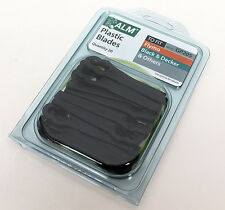ALM Plastic Blades, PACK QTY 20, To fit Flymo, Black & Decker & more. GP205