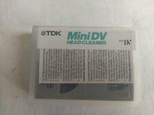 TDK mini DV head Cleaner Cassette De Nettoyage neuve boîte ouverte
