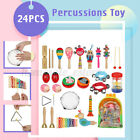 10/19/24Pcs Percussion Xylophone Kid Baby Toddler Musical Instrument Toys Band