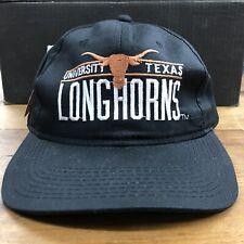Vtg 90s University of Texas Longhorns Snapback Hat Cap Blockhead NCAA College