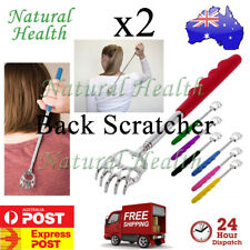 2x Back Scratcher Telescopic Bear Claw Extendable Portable Scratch Itchy Massage
