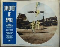 Sci-Fi The Conquest of Space 1950s Original Lobby Card George Pal Astronauts