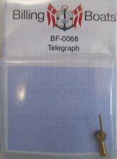 Billing BOATS Accessorio bf-0068 - 1 x 23 mm Ottone Lungo Sala macchine Telegraph 1stp