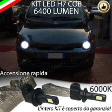 KIT FULL LED FIAT MULTIPLA MK1 LAMPADE H7 6000K XENON BIANCO GHIACCIO NO ERROR