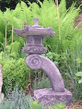 JAPAN LATERNE STEINLATERNE Yukimi Steinguss 21 kg RANKEI Pagode GARTENLAMPE STEI