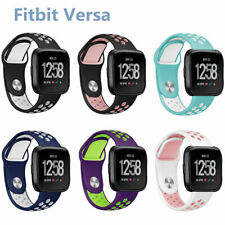 Silicone Fitness Sports Watch Band Soft Strap Wristband Replace for Fitbit Versa