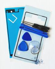 Herramientas + Frontal + Trasera pegatina adhesiva para Sony Xperia Z C6603 L36h Pantalla Táctil Lcd