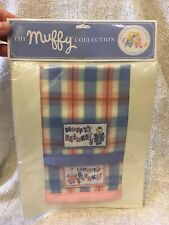 The Muffy Collection-  Bunk Truck Blankets For: Muffy And Hoppy Blankets. New.