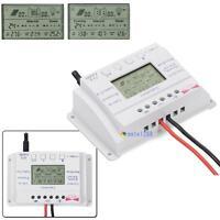 Solar Panel Regulator LCD 10A 20A 12V 24V MPPT Charge Controller Three Timer GA