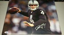 af0d293a1 Derek Carr Autographed 12 x 16 Framed Canvas Oakland Raiders PSA DNA COA   1