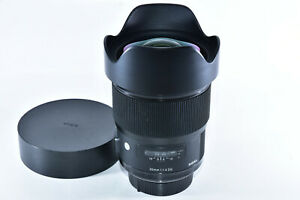 Sigma Art 20mm f/1.4 DG Lens for Nikon Great Astrophotography Lens (MF ONLY)