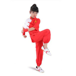 Kids Adults Chinese Kung Fu Tai Chi Uniform Martial Arts Suit Dragon Embroidery
