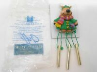 Avon Gift Collection Santa And Co. Wind Chime Magnet Reindeer NOS