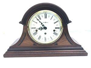 Howard Miller 613-192 Downing Key-Wound Triple Chime Mantel Clock-near mint