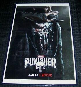 T2596 30 24x36 Silk Poster The Punisher 2017 Marvel Netflix TV Series Art Print