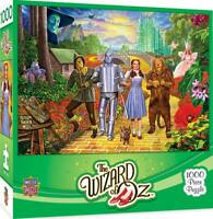 Masterpieces Wizard of Oz OFF TO SEE THE WIZARD 1,000 piece jigsaw puzzle NEW