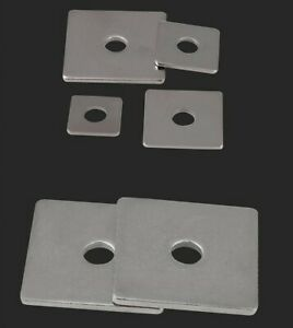 M3M4M5M6M8M10M12M14M16 304 stainless steel square washer / square flat washer