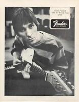 FENDER GUITAR GARY PUCKETT ORIGINAL 1968 PROMO PHOTO