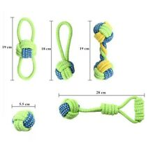 Dog Drop Teeth Toy Dog  Ball Grinding Cotton Rope Knot Pet Toys Large small