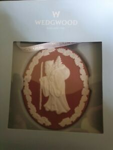 Wedgwood Red and White jasper ware Christmas Decoration