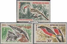 Niger 149-151 (compleet Kwestie) postfris MNH 1967 Vogels