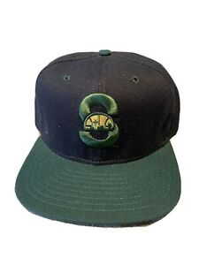 Vintage 70/80's Wool Seattle Supersonics NBA Snapback Hat. Gary Payton Style.