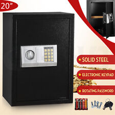Large Digital Electronic Keypad Lock Depository Safe Box Security Home Gun Lock