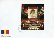 Chad 2018 FDC Princess Eugenie Jack Royal Wedding 1v M/S Cover II Royalty Stamps
