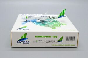 JC Wings 1:400 Bamboo Airways Embraer ERJ-190-200LR 'Save The Turtles' OY-GDB