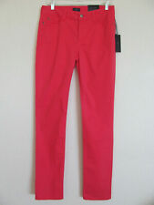 NYDJ Not Your Daughter's Jeans Sheri Skinny-Bright Watermelon -Size 10- NWT $110