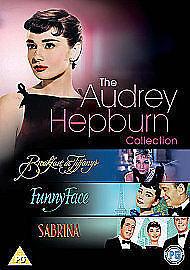 AUDREY HEPBURN COLLECTION - BREAKFAST AT TIFFANYS, FUNNY FACE, SABRINA -DVD -NEW