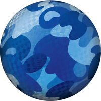 Hedstrom Blue Camo Rubber Playground Dodgeball Ball, 8.5 Inch