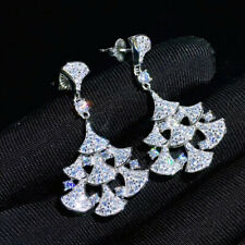 Luxury! Inspired Cubic Zirconia Earrings, Fan Earrings