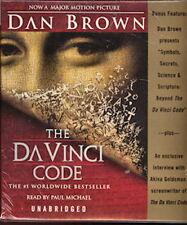 Audio book - The Da Vinci Code by Dan Brown   -  Cass   -   Abr
