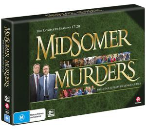Midsomer Murders : Seasons 17+18+19+20  (DVD, 15-Disc Set) BRAND NEW SEALED 🔥🔥