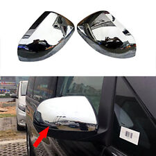 fit 2014-2017 Mercedes-Benz Vito W447 ABS Chrome Side Rearview Mirror Cover Trim
