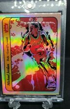 Michael Jordan All Eras Sports Custom Refractor 86-87 Sticker Rookie Card Remix