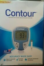 Contour Blood Glucose Monitoring System Kit Bayer Model 7151H  Exp 2020+