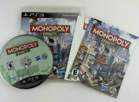 Monopoly Streets (Sony PlayStation 3 PS3) Complete w/ Manual Tested