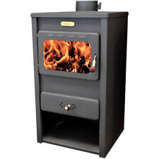Wood burning stove Log Burner Fireplace for direct heating KUPRO Style