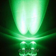 500 PCs MegaBright Green Led 5mm 40,000mcd!Free R&SH
