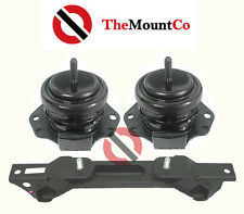 Front & Rear AUTO Engine Mount Set To Suit Pajero NS, NM, NP,NT,NW 00-14
