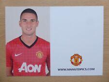 2012-13 Federico Macheda Unsigned Man Utd Club Card - RARE (9695)