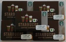 2017 STARBUCKS GIFT CARDS ~SEATTLE, WA DRINK IN LINE~ NO VALUE PIN# COVER LOT 50