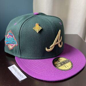 New Era Capsule Olympic Atlanta Braves 7 1/8 Not Hat Club Myfitteds 1996 2 Tone