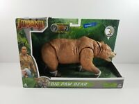 New Jumanji Movie Big Paw Bear Action Figure Walmart Exclusive Sound & Head Move