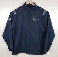 Nike Windbreaker 1/4 Zip jacket Mens Size XL Black Albert Pujols Celebrity Ford