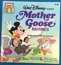 MOTHER GOOSE RHYMES (1979) Walt Disney Book (without cassette tape)